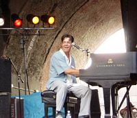 Arches Piano Stage, Cincy Bluesfest, 2004